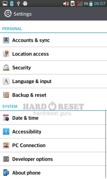 Backup & Reset LG H410YK Wine Smart
