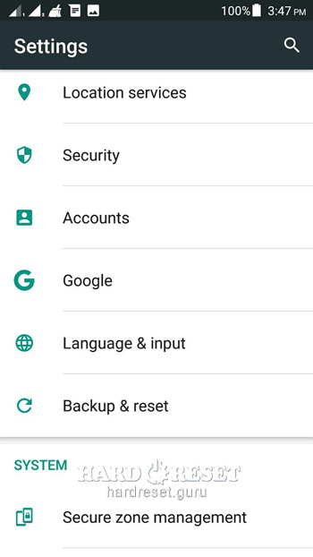 Backup & Reset HTC HTL22 HTC Others