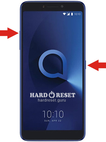 Hard Reset keys Alcatel 1X and similar series
