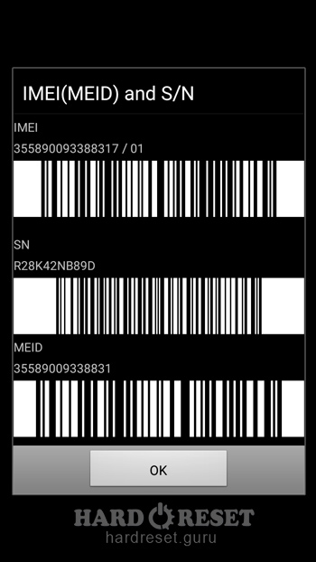 check your Imei Samsung