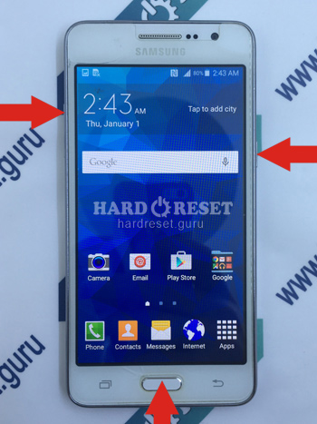 Hard Reset keys Samsung Galaxy Note 4