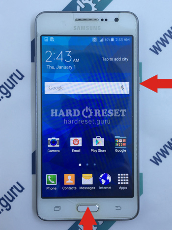 Power and Volume key Samsung Galaxy Grand Prime